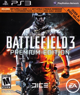 Игра Battlefield 3. Premium edition (PS3) б/у