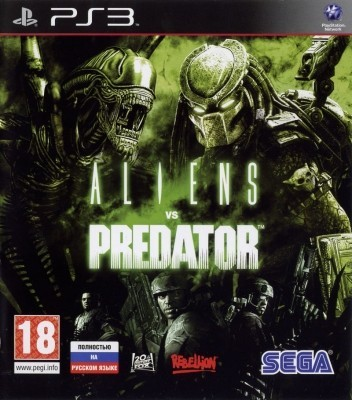 Игра Aliens vs Predator (PS3) б/у