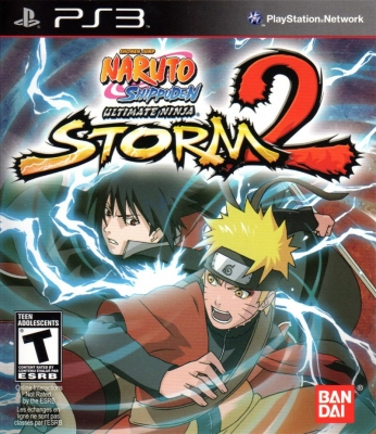 Игра Naruto Shippuden - Ultimate Ninja Storm 2 (PS3) б/у