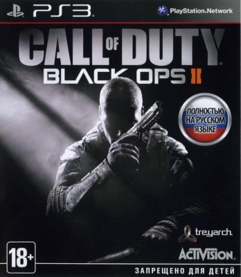 Игра Call of Duty: Black Ops II (PS3) б/у
