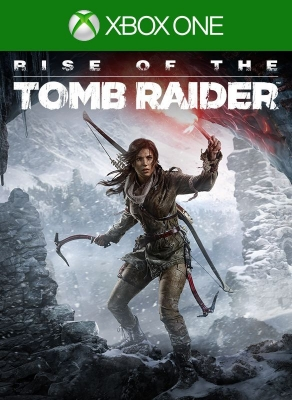 Игра Rise of the Tomb Raider (Xbox one) б/у