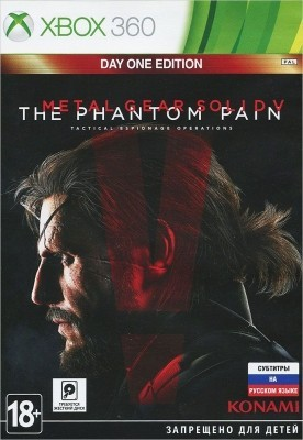 Игра Metal Gear Solid V: The Phantom Pain (Xbox 360) б/у