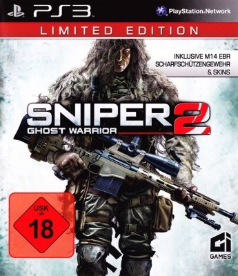 Игра Sniper: Ghost Warrior 2 (Limited Edition) (PS3) б/у