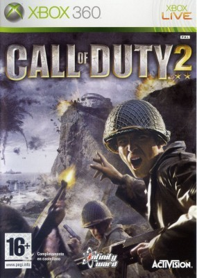 Игра Call of Duty 2 (Xbox 360) б/у