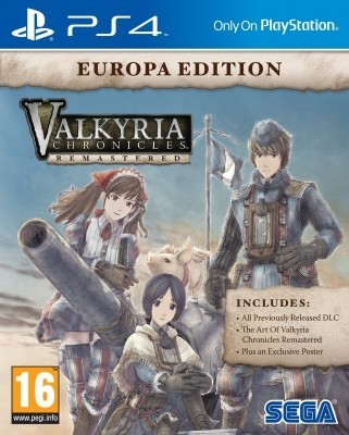 Игра Valkyria Chronicles Remastered. Europa Edition (PS4) б/у