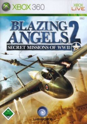 Игра Blazing Angels 2: Secret Missions of WWII (Xbox 360) б/у