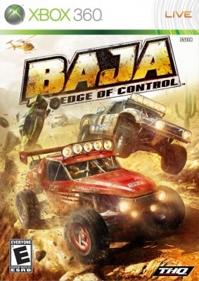 Игра Baja: Edge of Control (Xbox 360) б/у