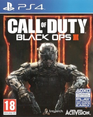 Игра Call of Duty: Black Ops III (PS4)
