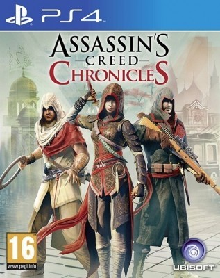 Игра Assassin's Creed Chronicles: Трилогия б/у (PS4)