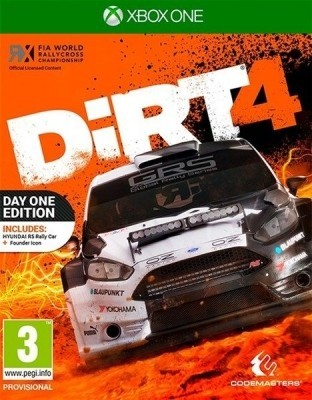 Игра Dirt 4 (Xbox One) (eng)
