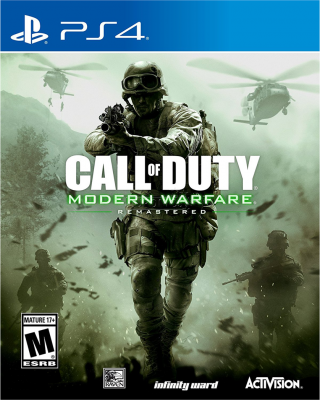Игра Call of Duty: Modern Warfare Remastered (PS4) б/у (rus)