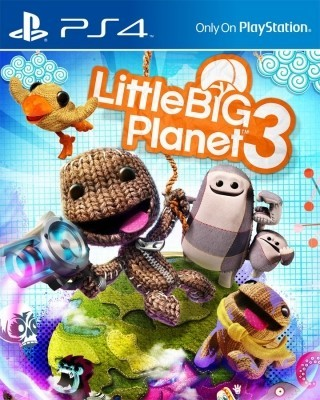 Игра Little Big Planet 3 (PS4) (rus)