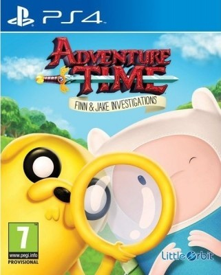 Игра Adventure Time: Finn and Jake Investigations‎ (PS4)