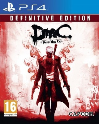 Игра DmC Devil May Cry (Definitive Edition) (PS4) б/у