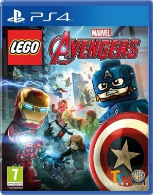 Игра LEGO Marvel Avengers (PS4) б/у