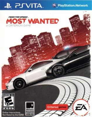 Игра Need for Speed: Most Wanted (PS Vita) б/у (rus)