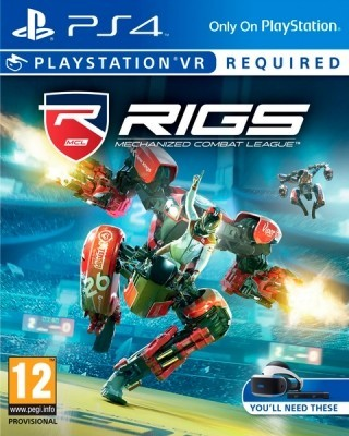 Игра RIGS: Mechanized Combat League (Только для PS VR) (PS4) б/у