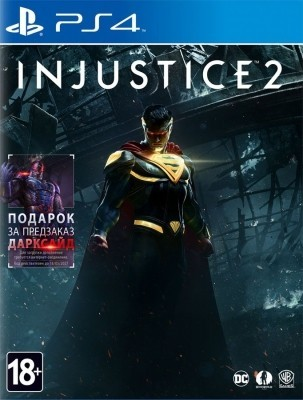 Игра Injustice 2 (PS4) б/у