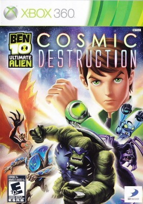 Игра Ben 10 Ultimate Alien - Cosmic Destruction (Xbox 360) б/у