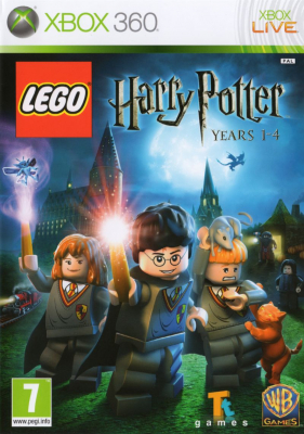 Игра LEGO Harry Potter: Years 1-4 (Xbox 360)