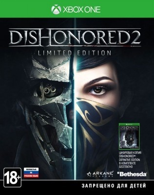 Игра Dishonored 2. Limited Edition (Xbox one) б/у (rus)
