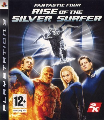 Игра Fantastic Four: Rise of the Silver Surfer (PS3) б/у