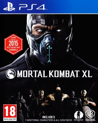 Игра Mortal Kombat XL (PS4) (rus sub)