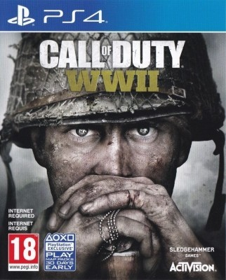 Игра Call of Duty: WWII (PS4) (rus) б/у