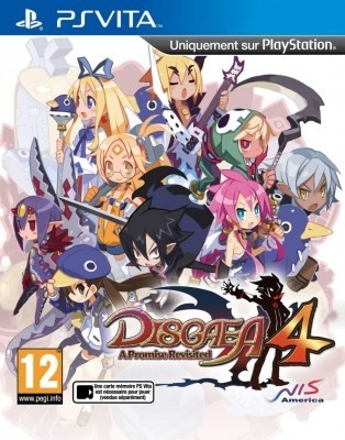 Игра Disgaea 4: A Promise Revisited (PS Vita) (eng)