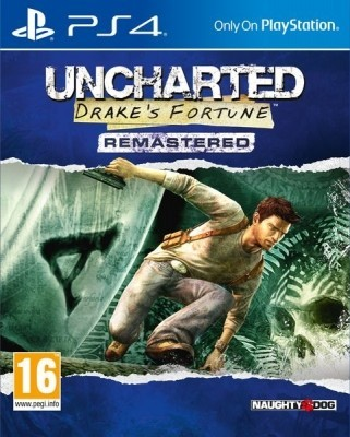 Игра Uncharted: Drake's Fortune Remastered (PS4) б/у