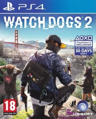 Игра Watch Dogs 2 (PS4) (eng) б/у
