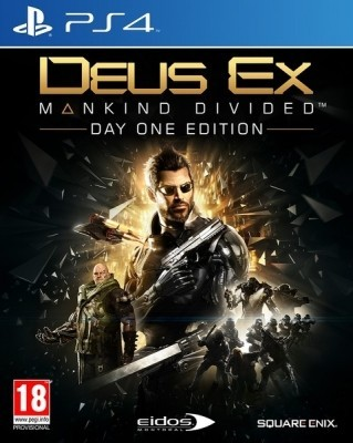 Игра Deus Ex: Mankind Divided - Day One Edition (PS4) б/у (eng)