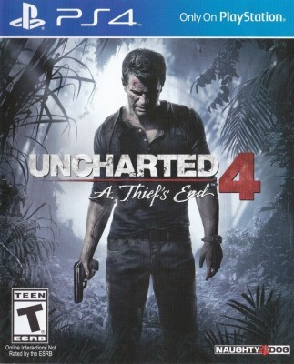 Игра Uncharted 4: A Thief's End (PS4) б/у (eng)