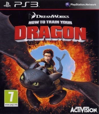 Игра How To Train Your Dragon (PS3) (eng) б/у