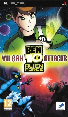 Игра Ben 10 Alien Force: Vilgax Attacks (PSP) б/у (eng)