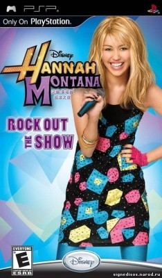 Игра Hannah Montana: Rock Out The Show (PSP) б/у (rus)