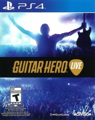 Игра Guitar Hero Live (PS4) б/у