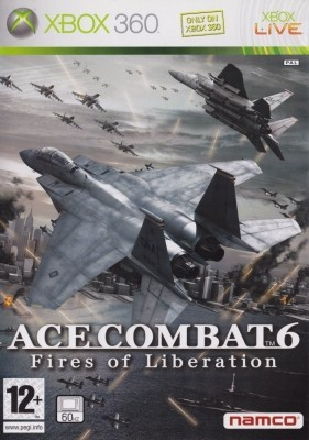 Игра Ace Combat 6: Fires of Liberation (Xbox 360) б/у