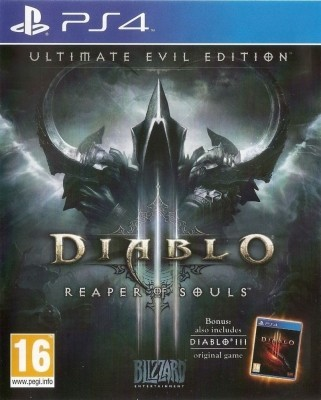 Игра Diablo III: Reaper of Souls - Ultimate Evil Edition (PS4) б/у