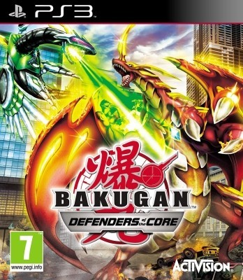 Игра Bakugan: Defenders of the Core (PS3)