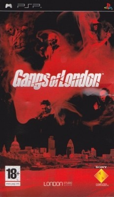 Игра Gangs Of London (PSP) б/у (eng)