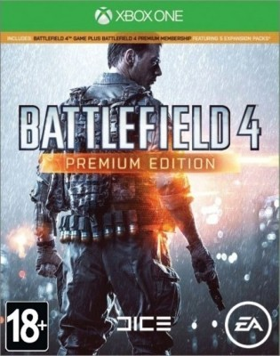 Игра Battlefield 4: Premium Edition (Xbox One) (rus)