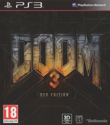 Игра Doom 3: BFG Edition (PS3) б/у