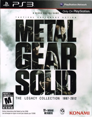 Игра Metal Gear Solid: The Legacy Collection (Cпециальное издание) (PS3)