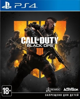 Игра Call of Duty: Black Ops 4 (PS4) б/у (rus)