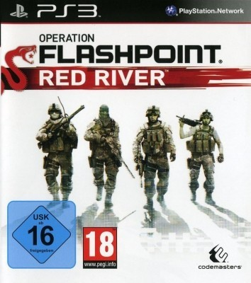 Игра Operation Flashpoint: Red River (PS3) б/у (rus)