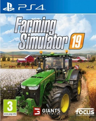 Игра Farming Simulator 19 (PS4) (rus)