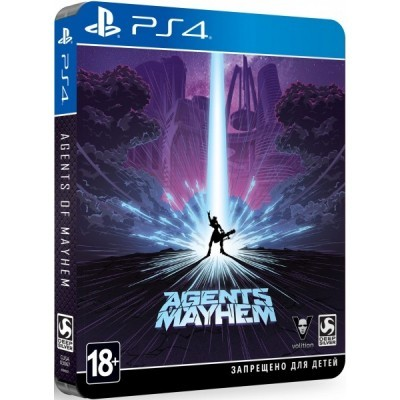 Игра Agents of Mayhem. Steelbook Edition (PS4) (rus sub) б/у