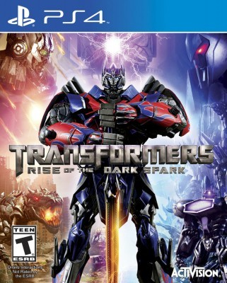 Игра Transformers: Rise of the Dark Spark (PS4) б/у
