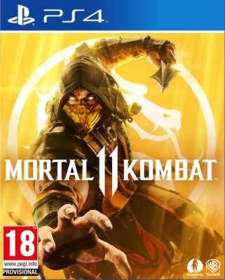 Игра Mortal Kombat 11 (PS4) (rus sub)